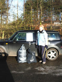 Litter Picking HQ at Dreghorn